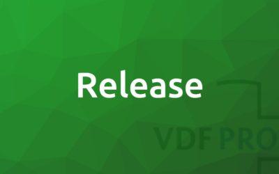 Nieuwe release Promedico-VDF