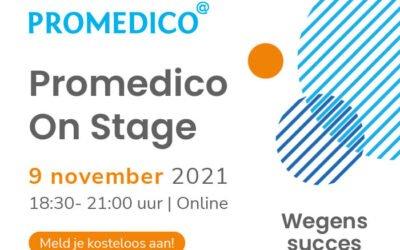 De 1e editie van Promedico On Stage zit erop!